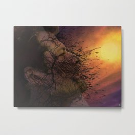 Leviathan Sunset Metal Print