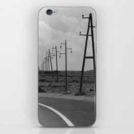 without a destination  Photo by Andrea Scuratti iPhone Skin