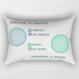 Everything is.. Rectangular Pillow