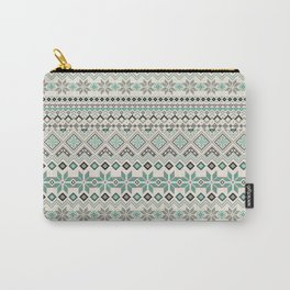 V40 Boho Vintage Anthropologie Pattern Carry-All Pouch