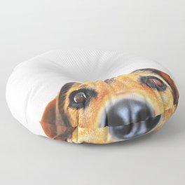 Peeking jack russel Floor Pillow