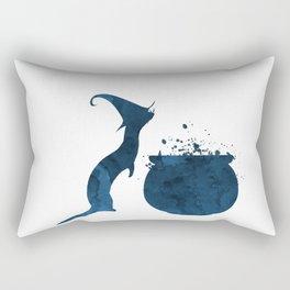 Witch Ferret Rectangular Pillow