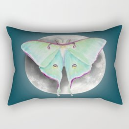 Luna Moth Rectangular Pillow