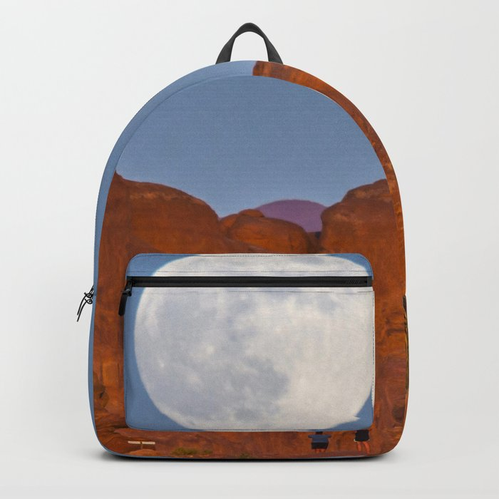 Supermoon Landscape Backpack