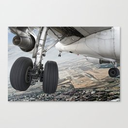 Visual approach Canvas Print