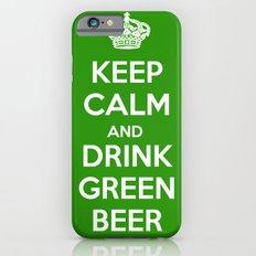 Keep Calm & Drink Green  iPhone 6s Slim Case