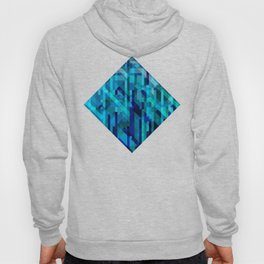 abstract composition in blues Hoody