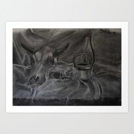 Beauty and the Bone Art Print
