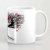 key Mugs featuring Key by Thedustyphoenix