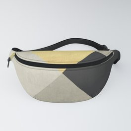 Geometric collage XVIII Fanny Pack