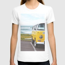 Combi yellow beach T-shirt