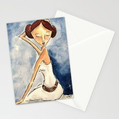 Pinup Princess Leia Stationery Cards