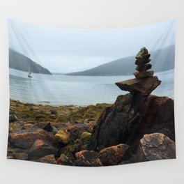 Acadia Cairn Wall Tapestry