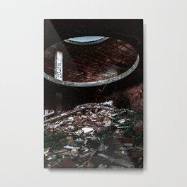 Abanoned Metal Print