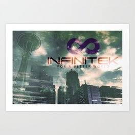 Infinitek Seattle Art Print