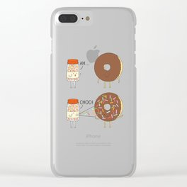 More Sprinkles Clear iPhone Case