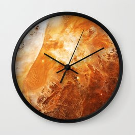Celestial Fires of Namibia Wall Clock