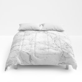 Nordic White Marble Comforters