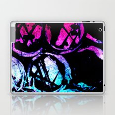 cyan ink top Laptop & iPad Skin