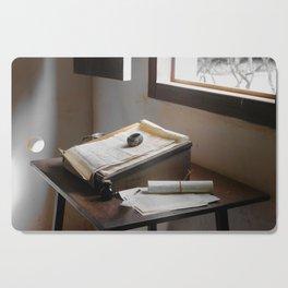 Spanish friar's desk Cutting Board