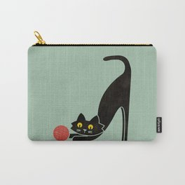 Fitz - the curious cat Carry-All Pouch