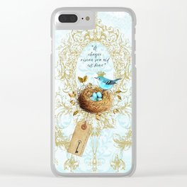 My nest is beautiful Clear iPhone Case