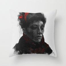 VANESSA IVES Throw Pillow
