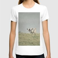 cows T-shirts featuring Moo Cows by Pure Nature Photos