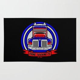 Prime Trucking Co. Rug