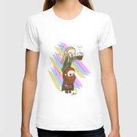legolas T-shirts featuring Party Legolas and Gimli  by BlacksSideshow