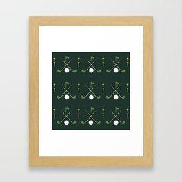 TGIF: Thank Golf It's Friday Framed Art Print