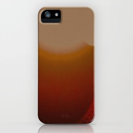 sun. sunlight on a grenade in the morning iPhone Case