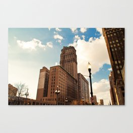 The Book Tower Canvas Print