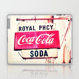 Royal Pharmacy Vintage Sign - New Orleans Laptop & iPad Skin