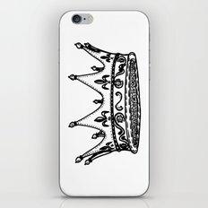 King Crown iPhone & iPod Skin