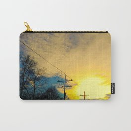 Telephone Trees Carry-All Pouch