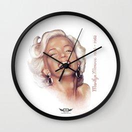 Monroe, Marilyn Wall Clock