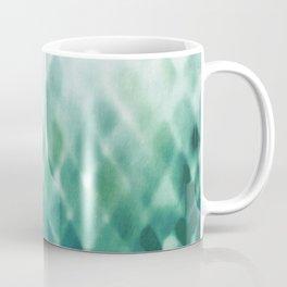 Diamond Fade in Teal Coffee Mug