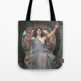 Circe Offering the Cup to Ulysses, John William Waterhouse Tote Bag