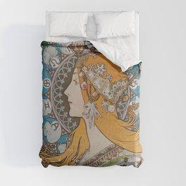 Alfons Mucha Comforters
