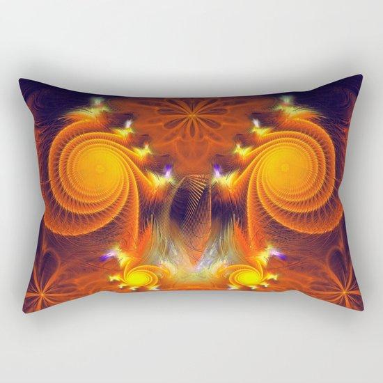 Full of Energy Rectangular Pillow
