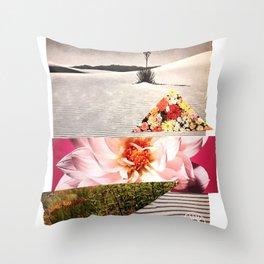 Desert Bloom Throw Pillow