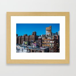Chinatown NYC Framed Art Print