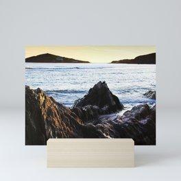 Burgh Island Sundown Mini Art Print