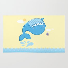 Whale Dance Rug