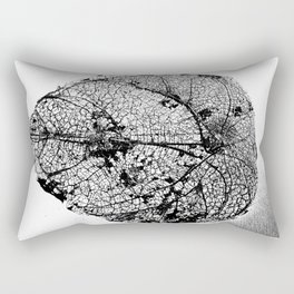 Skeleton Leaf Rectangular Pillow