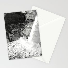 Painterly Waterfall Stationery Cards