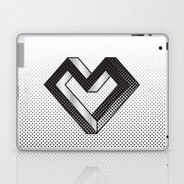 le coeur impossible (nº 5) Laptop & iPad Skin
