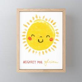 Moghrey Mie Ghrian Framed Mini Art Print