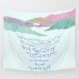 It Is Well With My Soul-Hymn Wall Tapestry